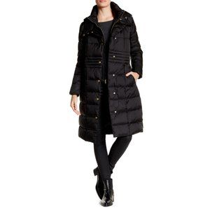 NEW! Cole Haan Hooded Quilted Coat